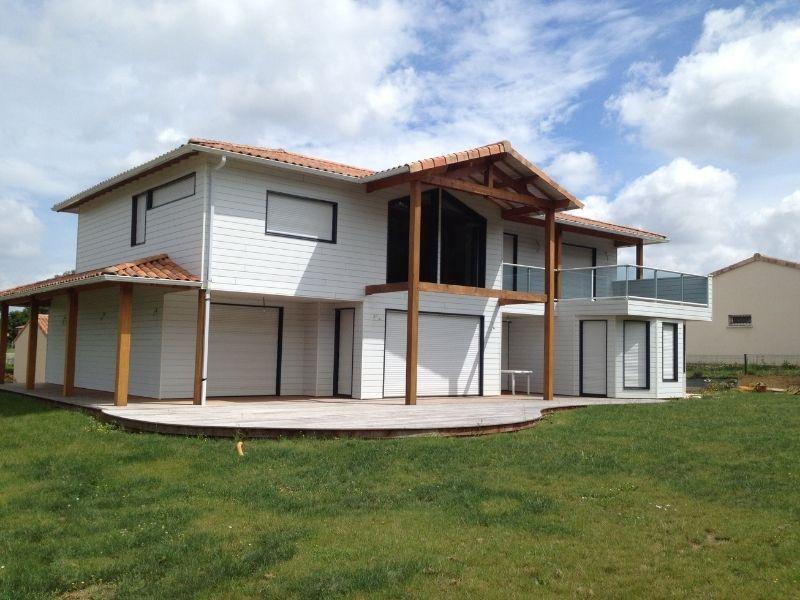 Construction maison en bois - ossature bois