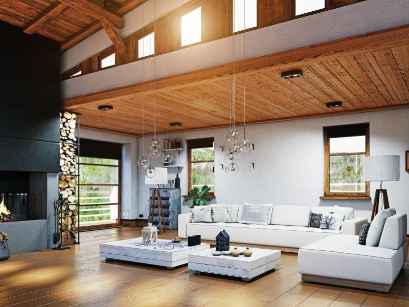 décoration maison en bois - esprit chalet