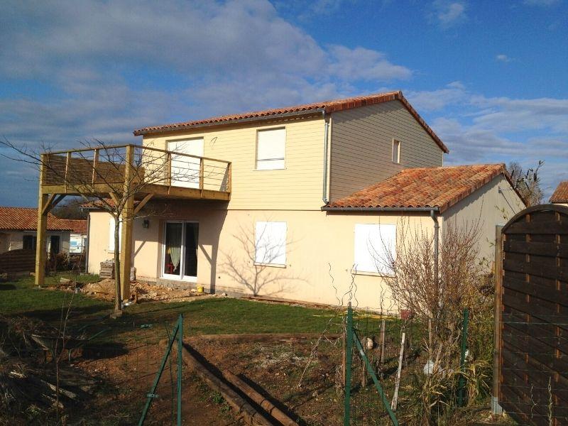 surélévation maison ossature bois à Poitiers