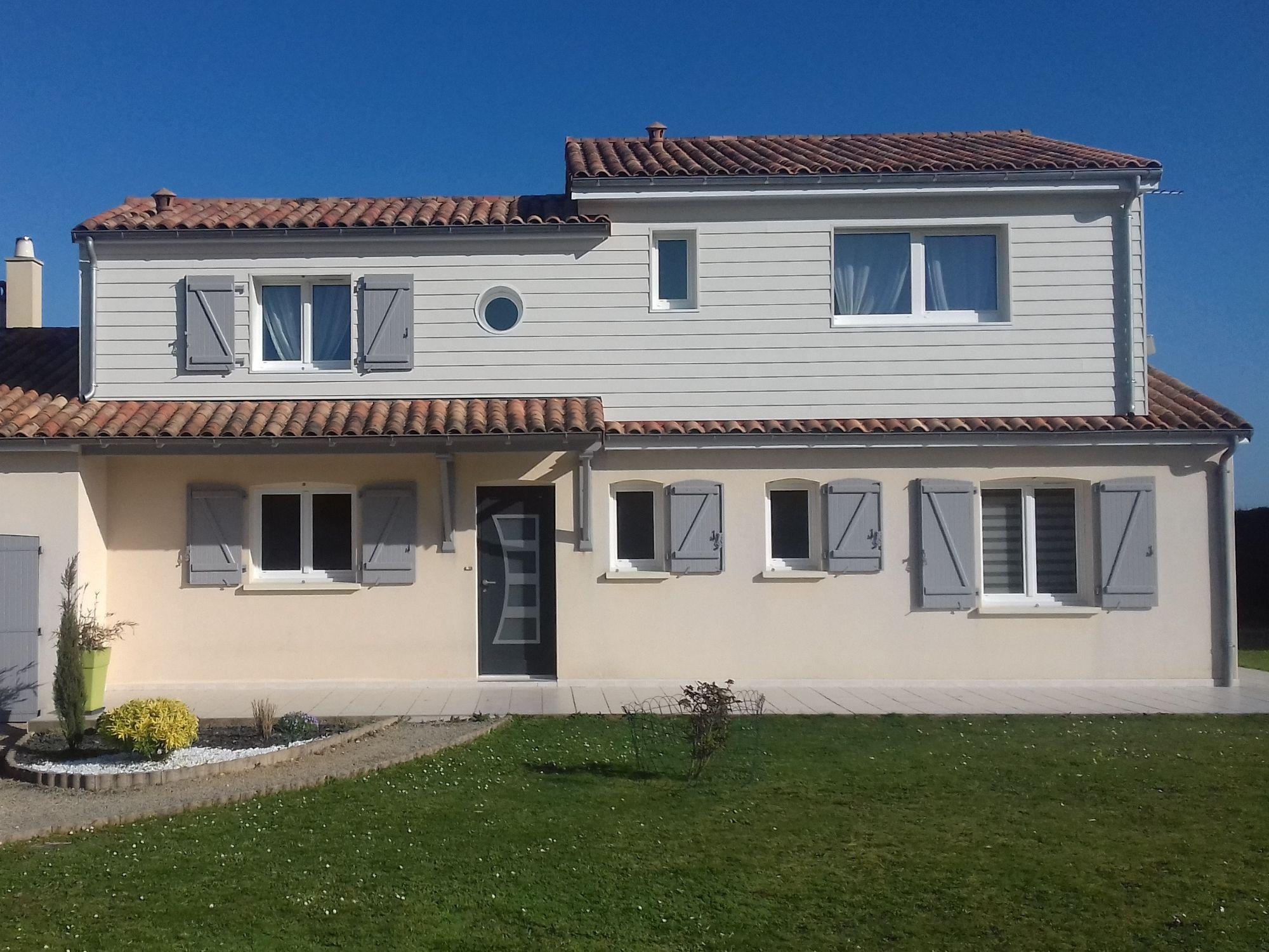 Surélévation ossature bois ou extension à Poitiers - Avenir bois 86