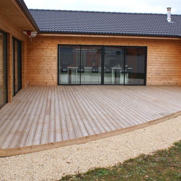 Construction de maison ossature bois à Vouillé